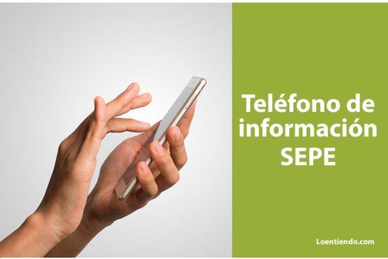 Teléfono de información del SEPE gratuito 900