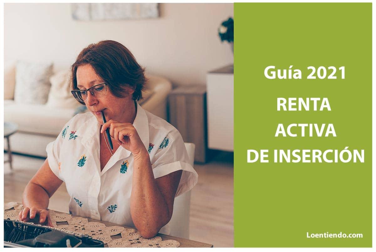 Guía de la renta activa de inserción 2021