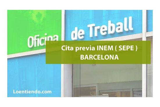 Cita Previa Inem Barcelona Inem 2021 Loentiendo