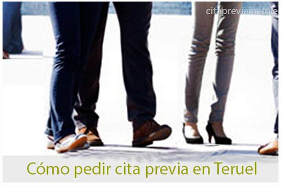 cómo pedir cita previa en el Inem de Teruel