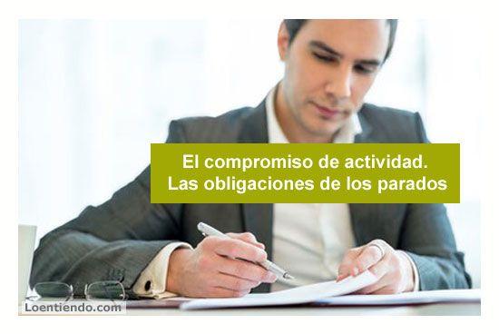 El compromiso de actividad. Las obligaciones de los empleados