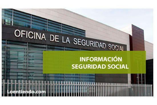 Información de la Seguridad Social