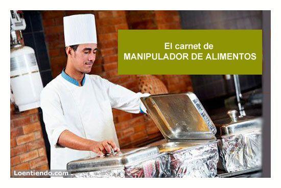 Carnet MANIPULADOR DE ALIMENTOS