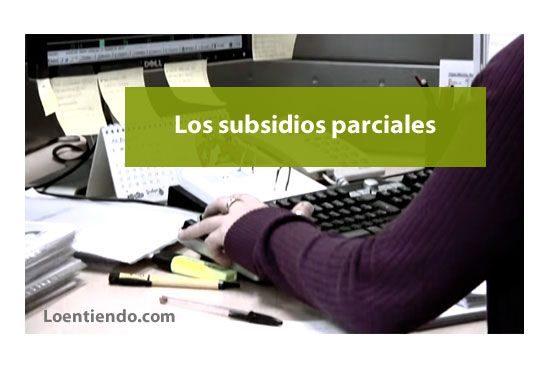 Los problemas con los subsidios parciales