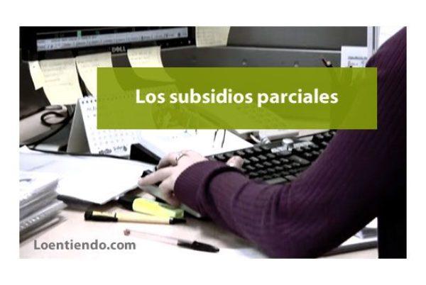 El subsidio parcial  ¿por qué no cobro los 451 euros al mes, sino mucho menos?