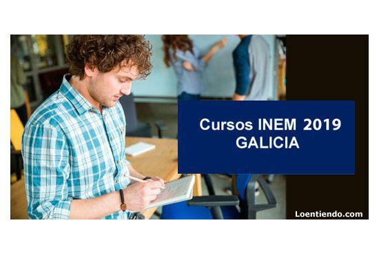 Cursos INEM Galicia 2019