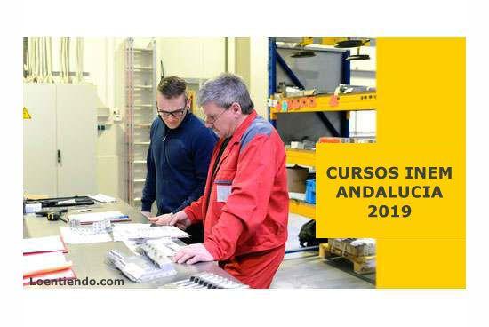 Cursos INEM Andalucía 2019