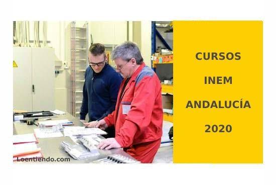 Cursos INEM ANDALUCIA 2020