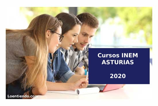 Cursos INEM ASTURIAS 2020