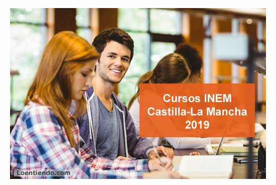 Cursos INEM Castilla La Mancha 2019