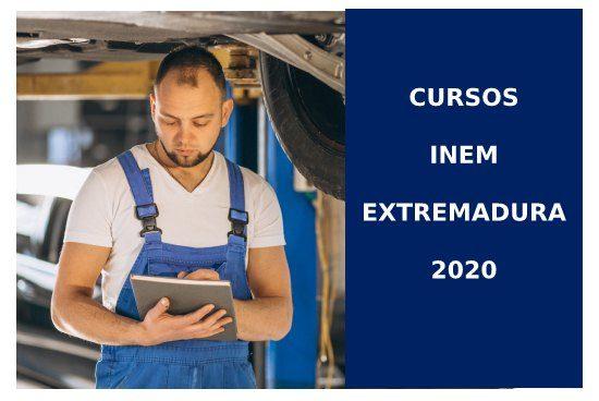 Cursos INEM EXTREMADURA 2020