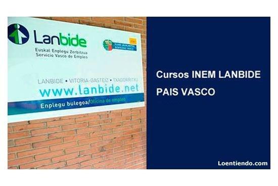 Cursos INEM PAIS VASCO