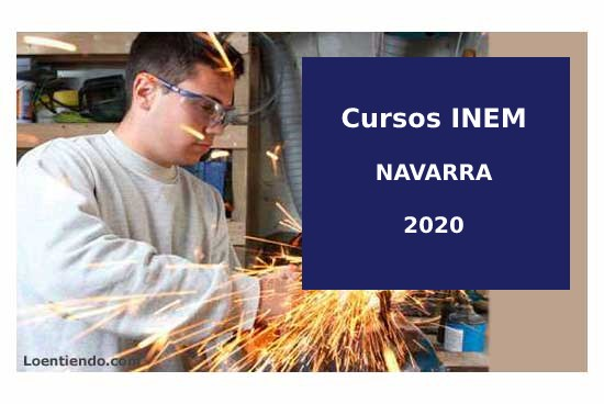 Cursos INEM NAVARRA 2020