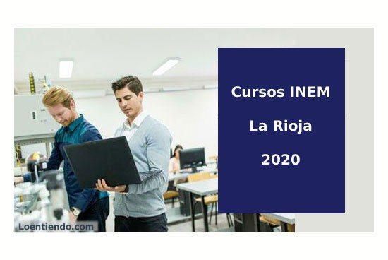 Cursos INEM la Rioja 2020