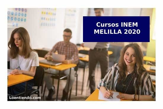 Cursos INEM Melilla 2020