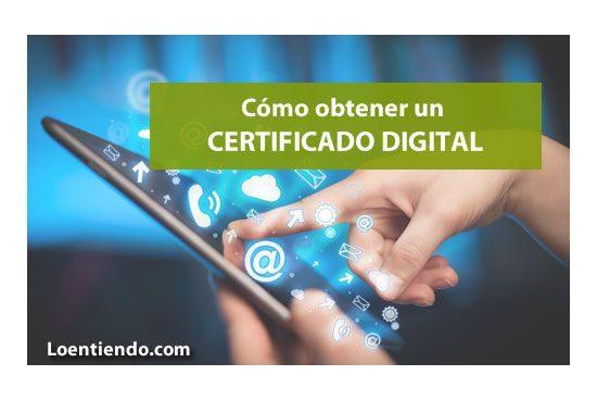 Cómo solicitar un certificado digital