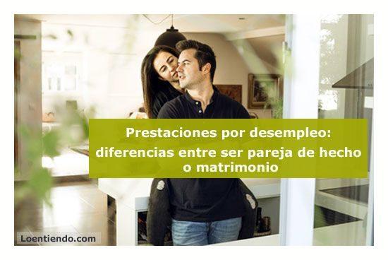 Prestaciones para matrimonios o parejas de hecho