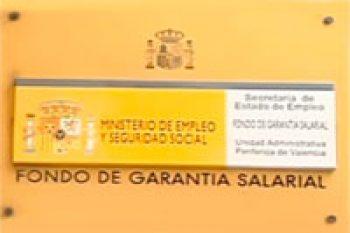 FOGASA.  El Fondo de Garantía Salarial