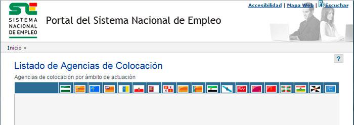 Directorio de Agencias de Colocación