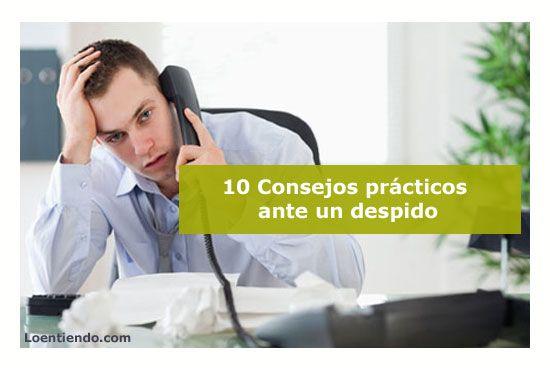 10 consejos tras un despido