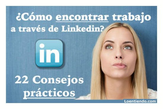 cómo encontrar trabajo a través de LinkedIn