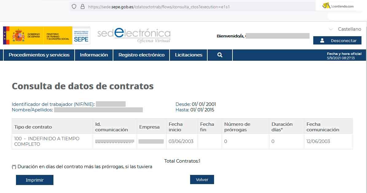 Obtener copia basica contratos de trabajo
