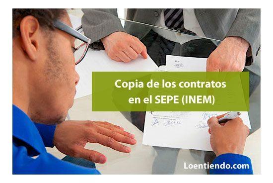 Cómo obtener copia del contrato de trabajo depositado en el SEPE INEM