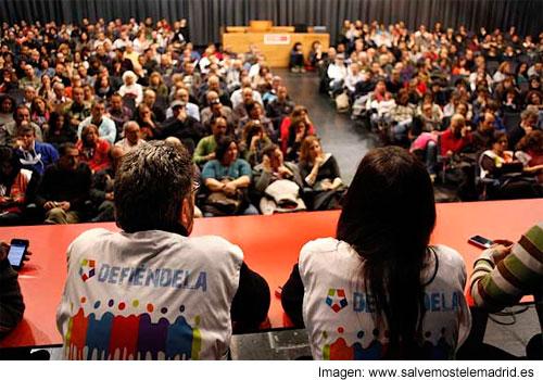Asamblea de trabajadores de telemadrid