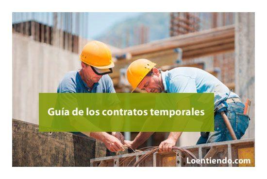 Guía de los contratos temporales