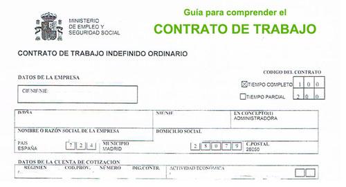 Guía para comprender el contrato de trabajo