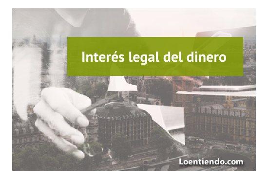El interés legal del dinero en 2019
