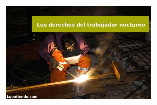 Derechos del trabajador nocturno