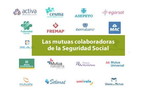 Mutuas colaboradoras de la Seguridad Social