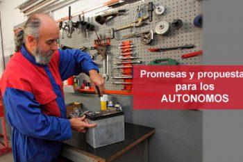 Promesas y reformas para favorecer a los autónomos
