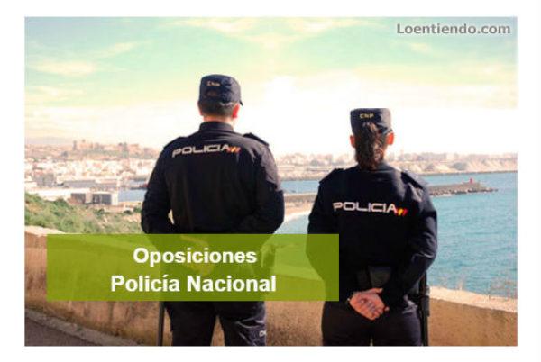 Convocadas 2.366 plazas para Policía Nacional en 2020