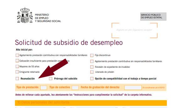 C mo suspender el subsidio para trabajar como aut nomo for Oficina electronica sepe