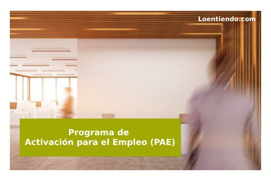 Programa de activación para el empleo
