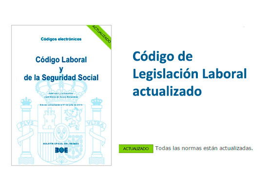 Código de legislación laboral actualizado pdf