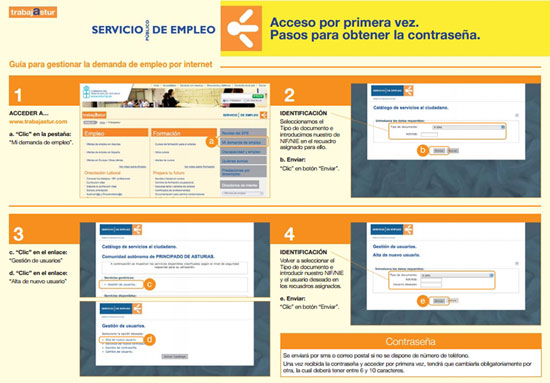 C mo sellar el paro por internet en asturias inem 2018 for Sellar paro oficina virtual
