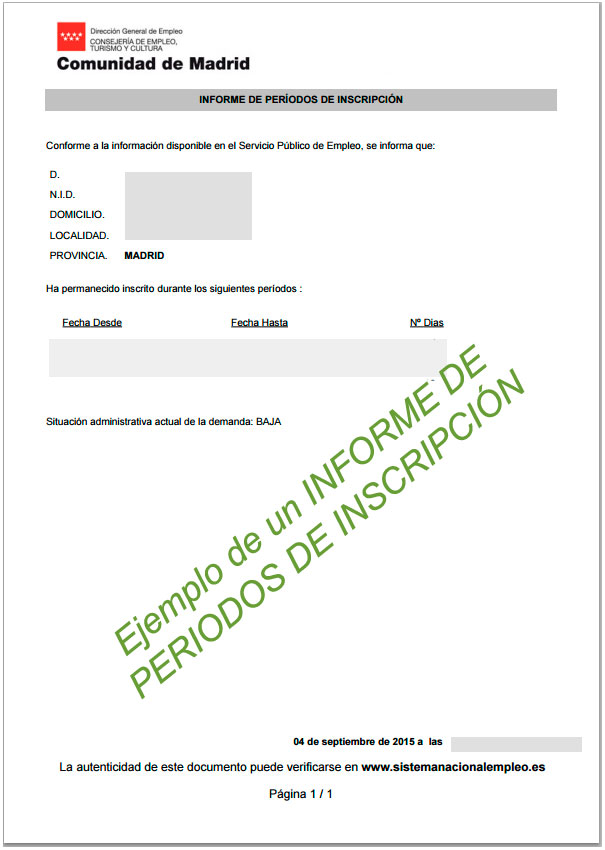 El certificado de inscripci n como demandante de empleo for Sellar paro con certificado digital