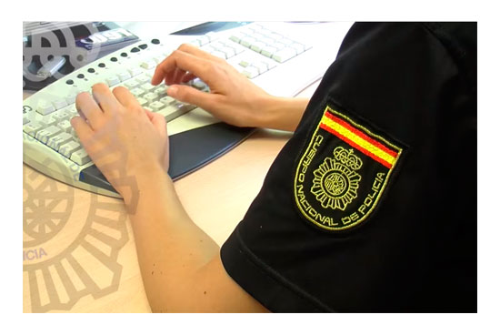 Policia Nacional detiene red contratos falsos
