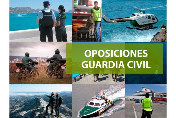 Oposiciones Guardia Civil 2020:  convocadas  2.154 plazas