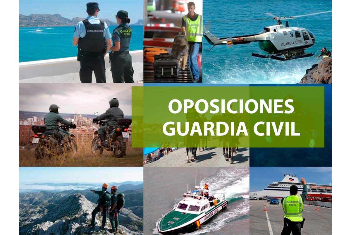 Oposiciones para el acceso a la Guardia Civil