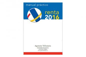 Manual práctico en pdf para la declaración de la Renta 2016