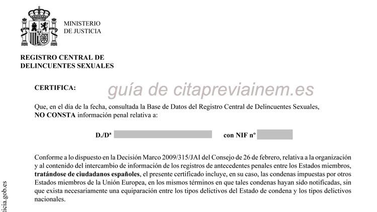 Obtención del Certificado en pdf