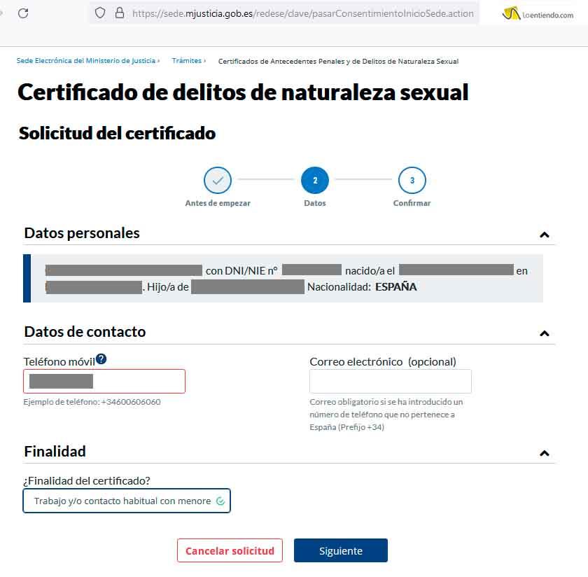 Paso 2 certificado delitos sexuales