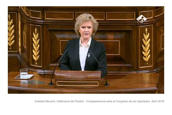 Soledad Becerril Defensora del Pueblo