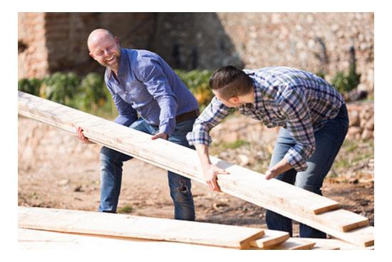 Trabajos de amistad, benevolencia, familiares y buena vecindad