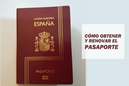 Cómo obtener y renovar el pasaporte