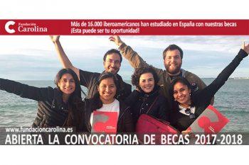 Becas de Fundación Carolina para estudiantes iberoamericanos